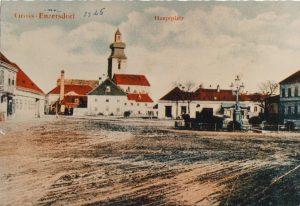 Hauptplatz um 1925